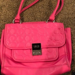 Pink LULU bag